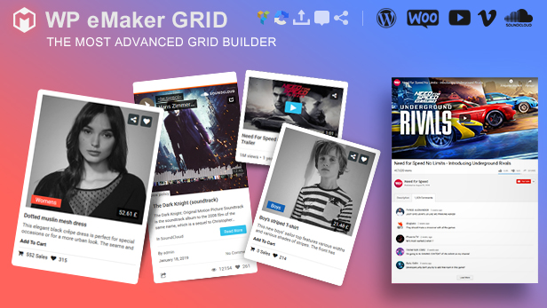 WP eMaker Grid