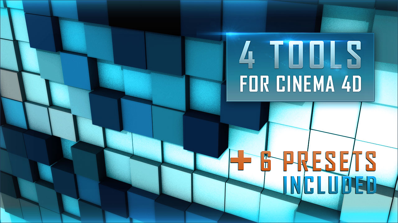 Volume Pixel GENERATOR Tools For Cinema 4D